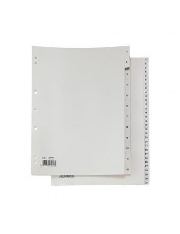 Divisorio Rubrica Numerico PVC RA4 1-31
