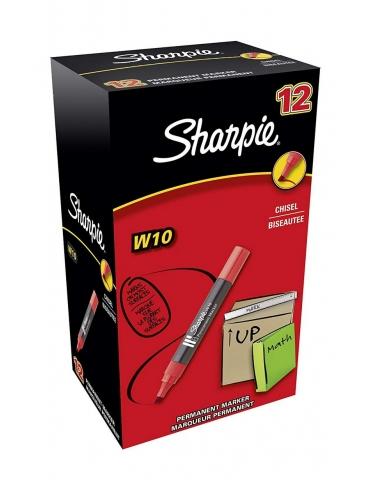 Marker Indelebile Papermate Sharpie W10 Conf. 12 Pezzi