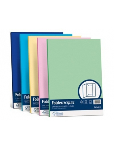 Folder 3 Lembi Favini 25x35 Conf. 25 Pezzi