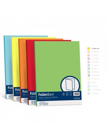 Folder Semplice Favini 25x35 Conf. 50 Pezzi