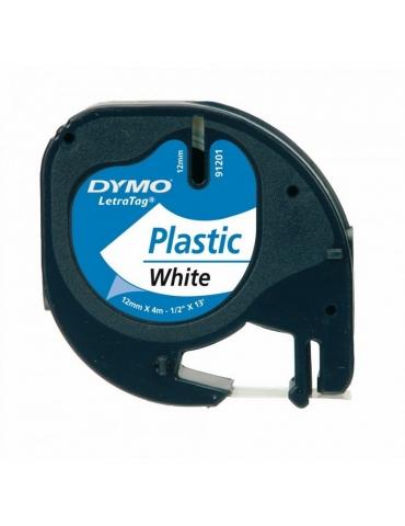 Nastro Letratag Dymo in Plastica 12MMx4M