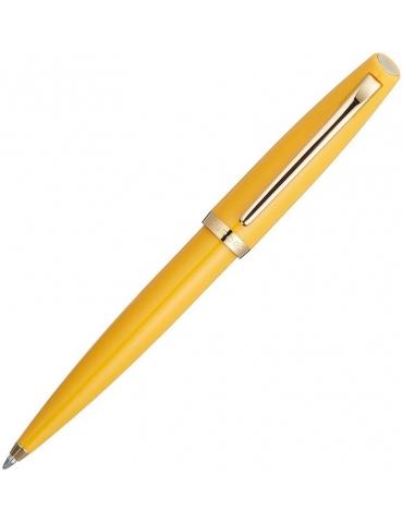 Penna a Sfera Aurora Style Resin Finitura Cromata