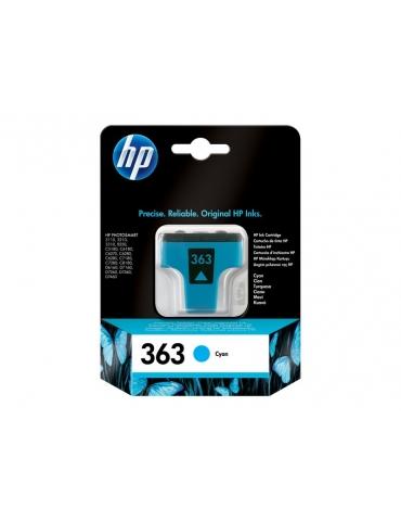 Cartuccia Stampante HP 363 Ciano