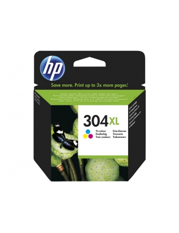 Cartuccia Stampante HP 304 XL Tricromia (CMY)