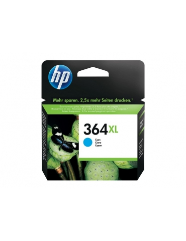 Cartuccia HP 364 XL Ciano