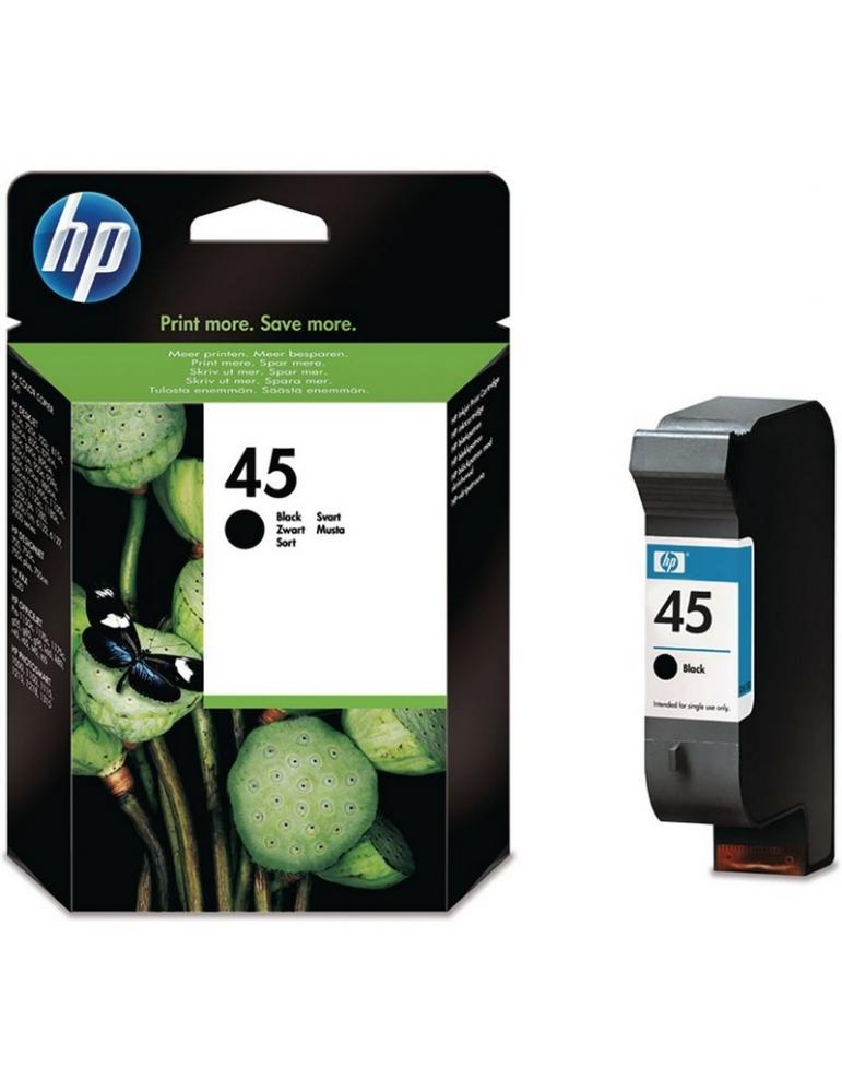 Cartuccia Stampante HP 45 Nero