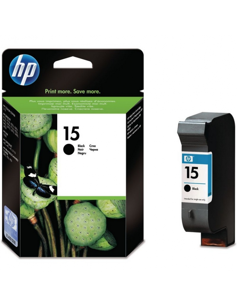 Cartuccia Stampante HP 15 Nero