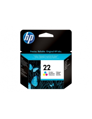 Cartuccia Stampante HP 22 Tricromia (CMY)
