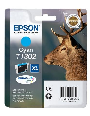Cartuccia Stampante Epson T1302 Ciano
