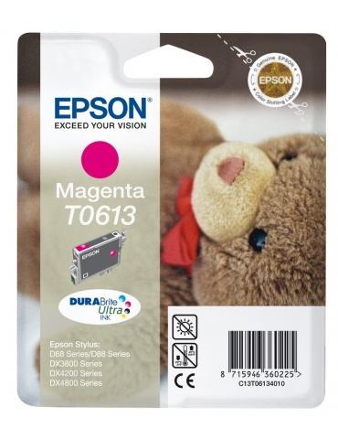 Cartuccia Stampante Epson T0613 Magenta