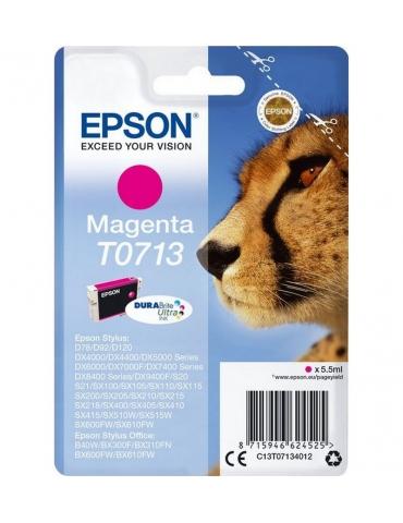 Cartuccia Stampante Epson T0713 Magenta