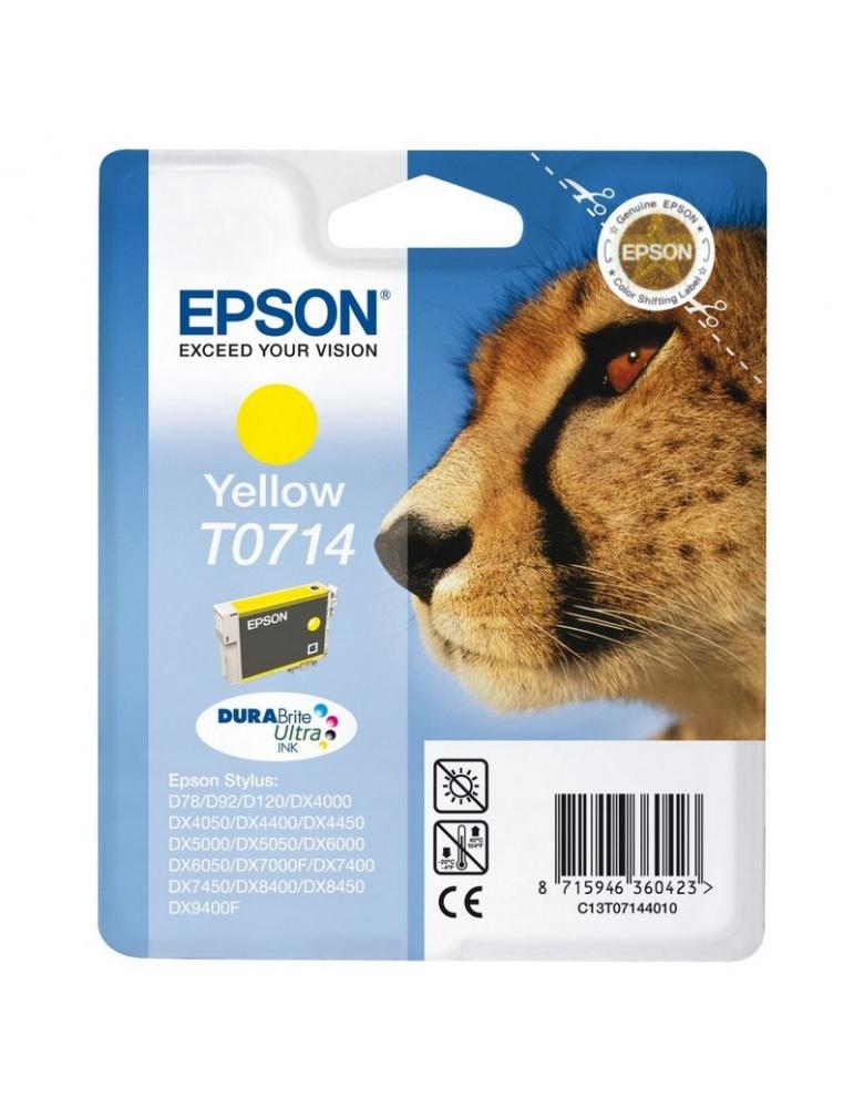 Cartuccia Stampante Epson T0714 Giallo