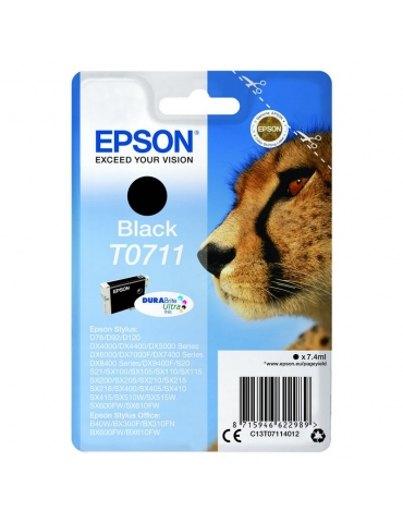 Cartuccia Stampante Epson T0711 Nero