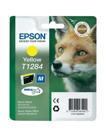 Cartuccia Stampante Epson T1284 Giallo