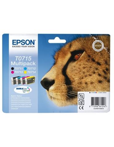 Cartuccia Stampante Epson T0715 Multipack