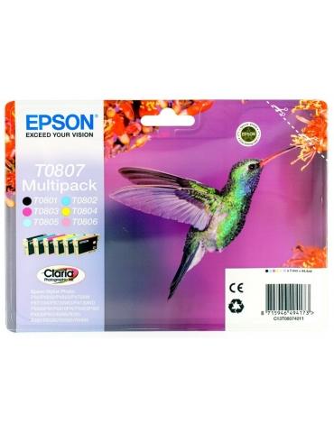 Cartuccia Stampante Epson T0807 Multipack