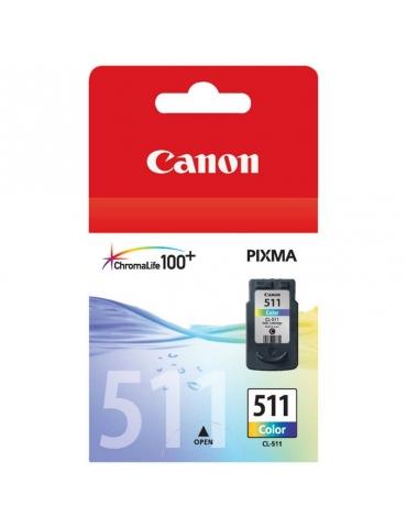 Cartuccia Stampante Canon Pixma 511 Tricromia (CMY)