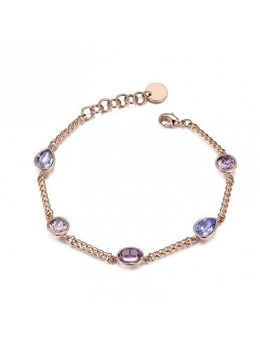 Bracciale Donna Brosway Affinity Oro Rosa