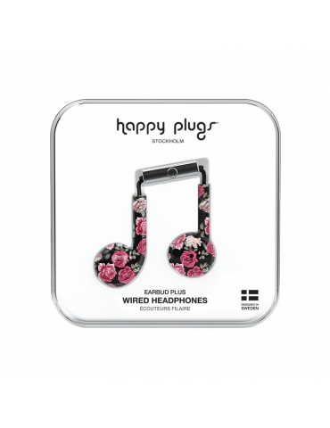 Auricolari Happy Plugs Vintage Roses