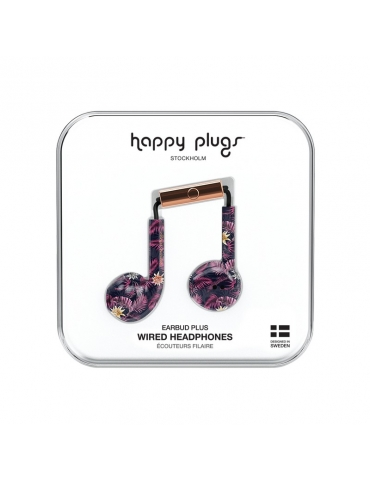 Auricolari Happy Plugs Hawaiian Nights