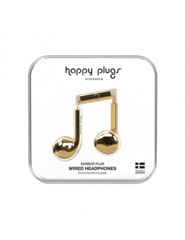 Auricolari Happy Plugs Gold
