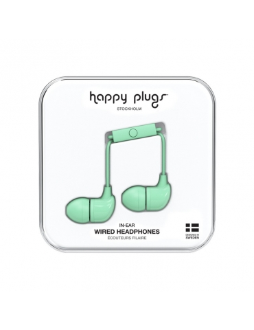 Auricolari Happy Plugs Mint