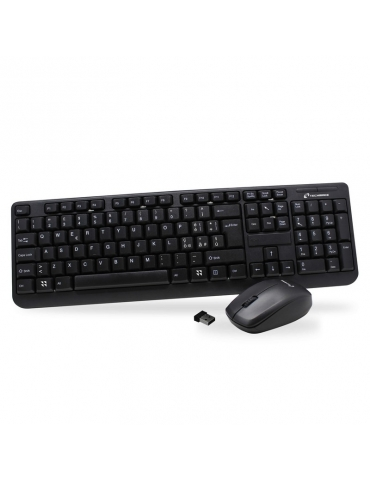 Tastiera Techmade Wifi Combo Set con Mouse