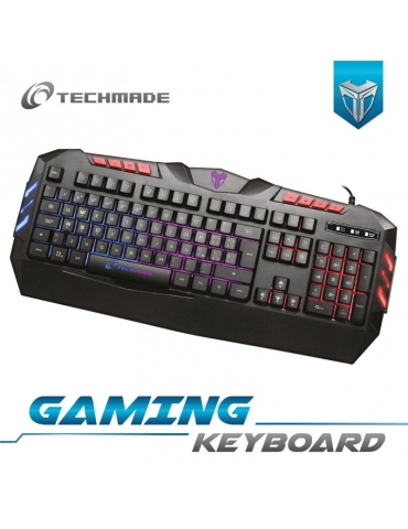 Tastiera PC Techmade Gaming USB
