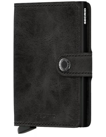 Portacarte Secrid Miniwallet Vintage Black