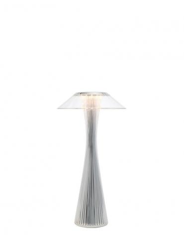 Lampada da Tavolo Kartell Space Titanio