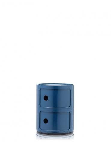 Mobile Contenitore Kartell Componibile Blu