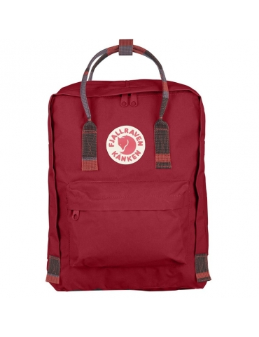 Zaino Fjallraven Kanken Deep Red - Random Blocked