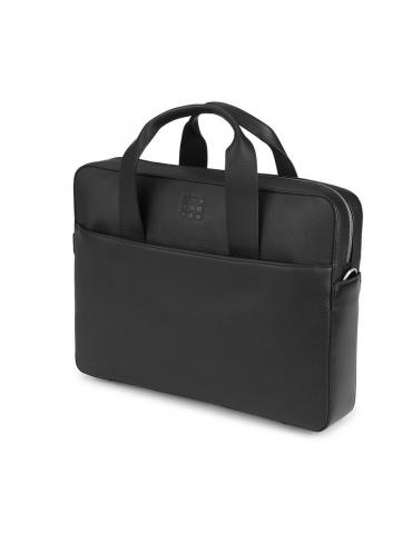 Borsa Moleskine Slim Briefcase Pelle Nera