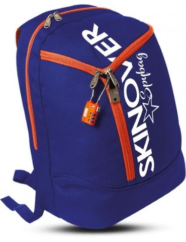 Zaino Skin Over Spy Bag Blu/Arancio
