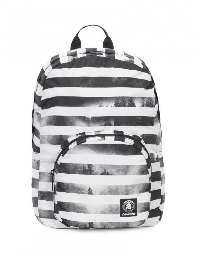 3629427e3a Zaino Invicta Packable Smart Bianco/Nero| Spedizione Gratis