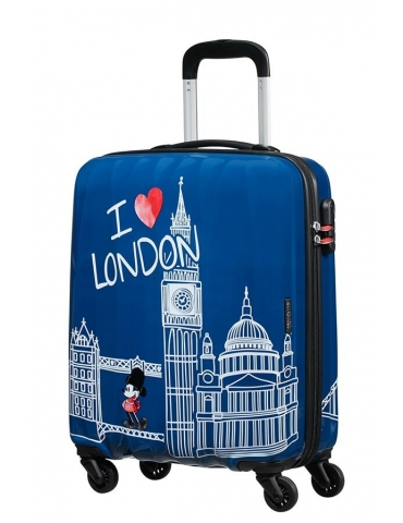 Trolley Cabina American Tourister Disney Legends 55/20 Take Me Away Mickey London