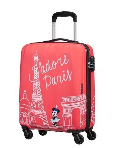 Trolley Cabina American Tourister Disney Legends 55/20 Take Me Away Minnie Paris