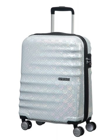 Trolley Medio American Tourister Wavebreaker 67/24 Starlight Silver