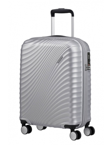 Trolley Cabina American Tourister Jetglam 55/20 Metallic Silver