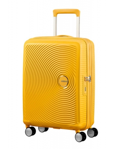 Trolley Cabina American Tourister Soundbox 55/20 Golden Yellow