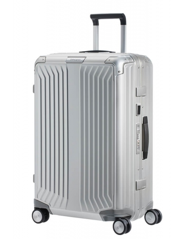 Trolley Medio Samsonite Lite-Box Alu 69/25 Aluminium