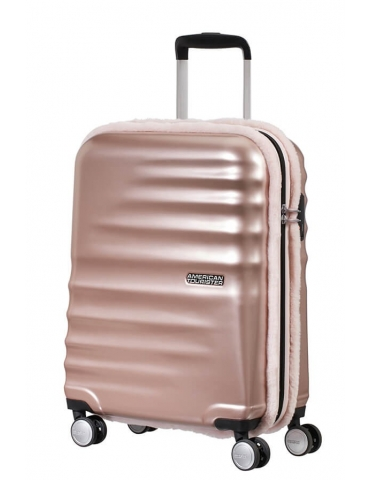 Trolley Cabina American Tourister Wavebreaker 55/20 Ice Blue