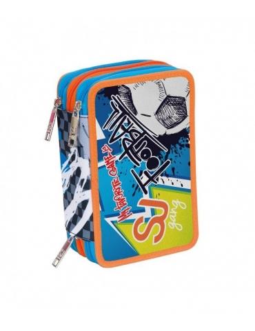 Astuccio Seven 3 Zip High Tech Boy