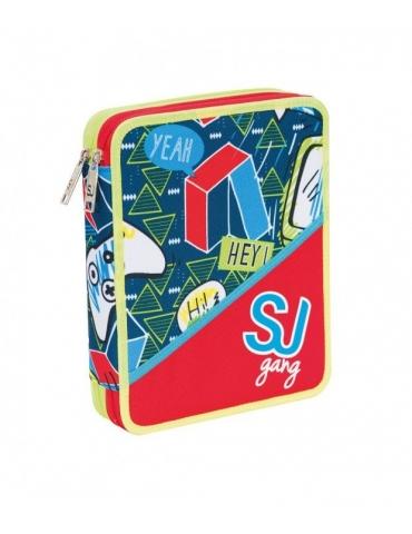 Astuccio Seven Maxi 2 Zip Sj Gang Boy
