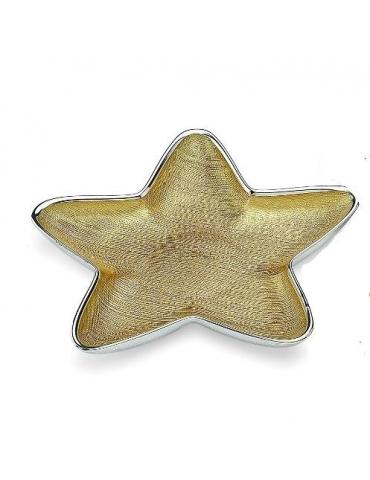 Piatto Dogale Stella Alya Oro
