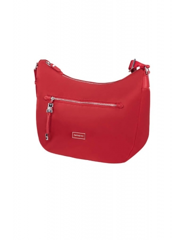 Borsa Donna Samsonite Karissa Hobo Bag M Formula Red