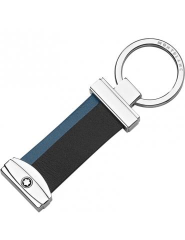 Portachiavi Montblanc Meisterstuck Righe Blu/Nero