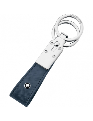 Portachiavi Montblanc Sartorial 2 Anelli Blu