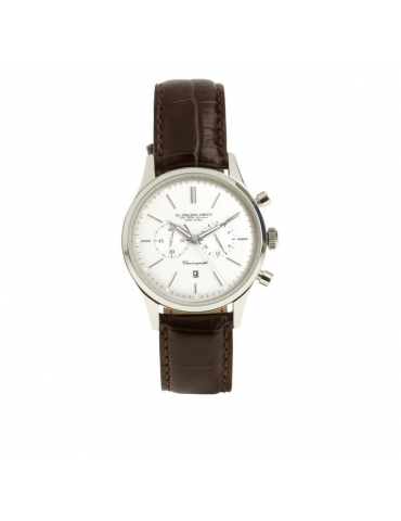 Orologio Cronografo Spalding & Bros St. Regis Argento