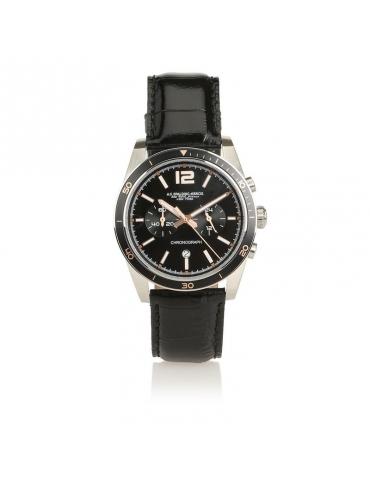 Orologio Cronografo Spalding & Bros Buxton Nero
